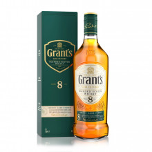 WHISKY GRANT'S 8ANOS SHERRY 70CL
